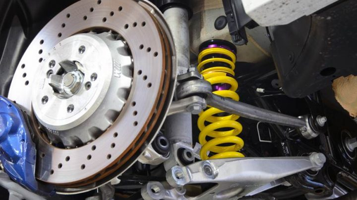 Knowing the importance of brakes and suspension